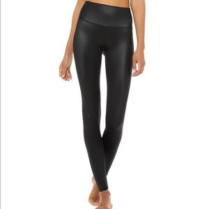 ALO Yoga leggings- High Waist Shine
